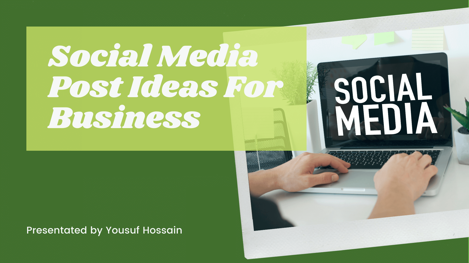 Social Media Post Ideas For Business Easy Wp Solution