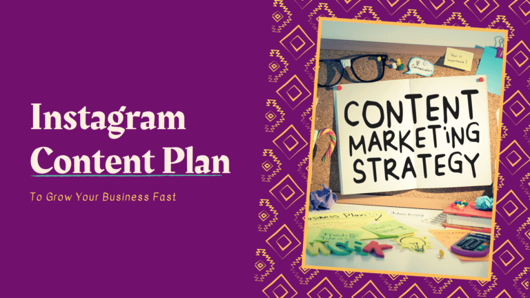 Instagram Content Plan