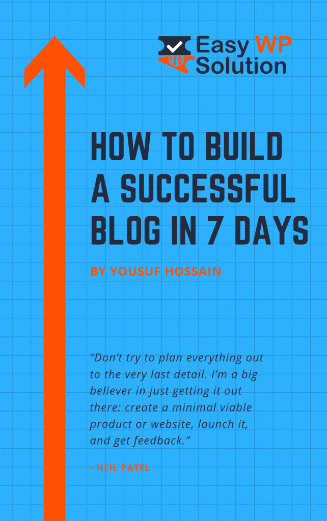 How to build a successful blog course cover